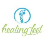 logo healing feet