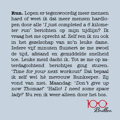 100brillen - RANDOM - Run.