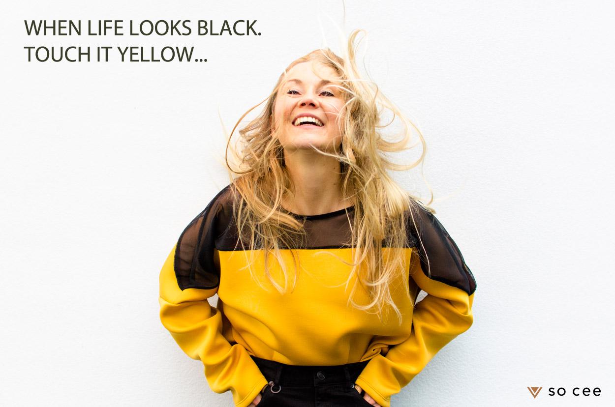 so-cee.lifestyle.blog.fashion.outfitoftheday.blogger.dutch.urban.yellow.black.quote.2