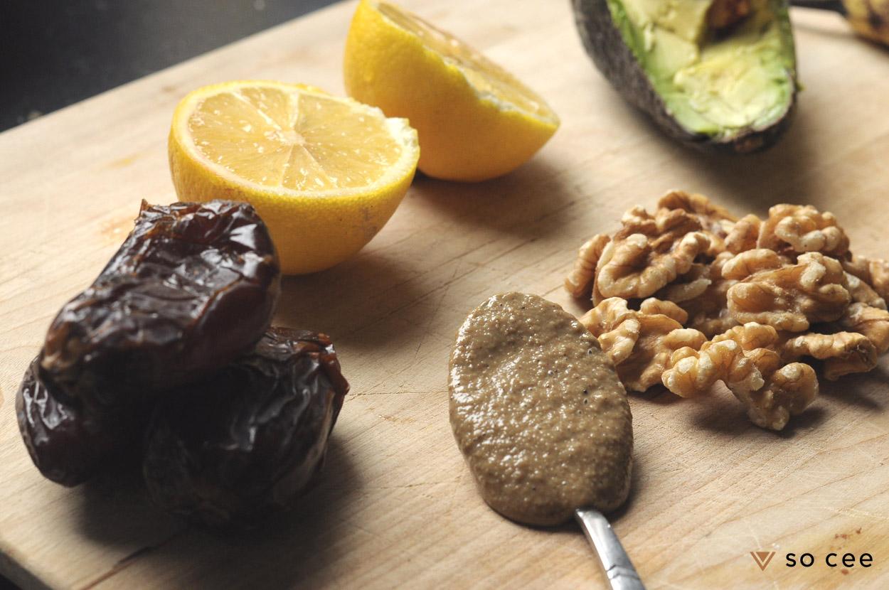 so-cee.blog.recept.recepten.glutenvrij.suikervrij.ontbijt.gezond.banaan.avocado.noten.variatie.tussendoortje.mousse.tahin.6