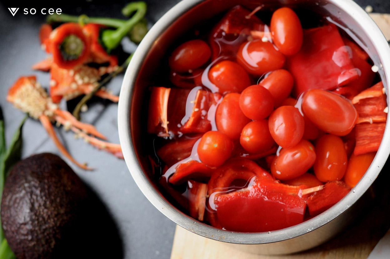 so-cee-lifestyle-blog-kerst-recept-glutenvrij-tomaten-soep-zoetepunt-paprika-knoflook-diner-lunch-gezond-coach-afvallen-dieet-tussendoor-5